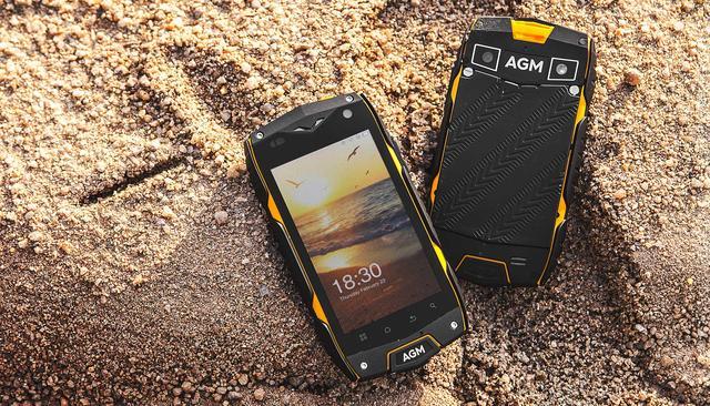 Новинка от AGM - защищенный смартфон начального уровня AGM A7