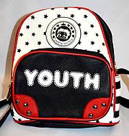 Рюкзак из искусственной кожи Youth 20*25 белый