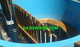 Офуро японская баня фурако с чашей из полипропилена и обшивкой из дуба или термодерево. , фото 8