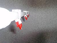 Ниппельная поилка для водоплавающей птицы в сборе длинной 1 м., фото 1