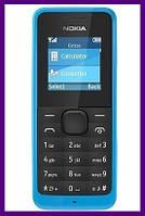 Телефон Nokia 105 Cyan. Гарантия в Украине 1 год!
