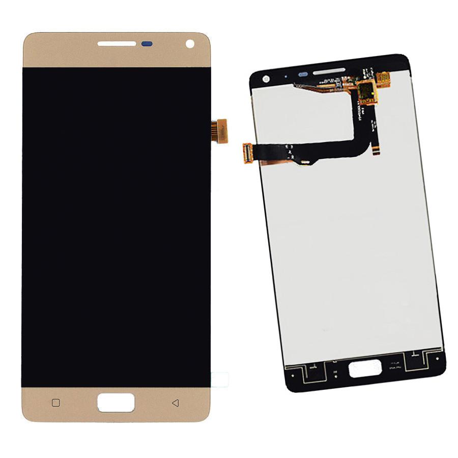 Дисплейный модуль для мобильного телефона Lenovo Vibe P1 p1a42 золотой