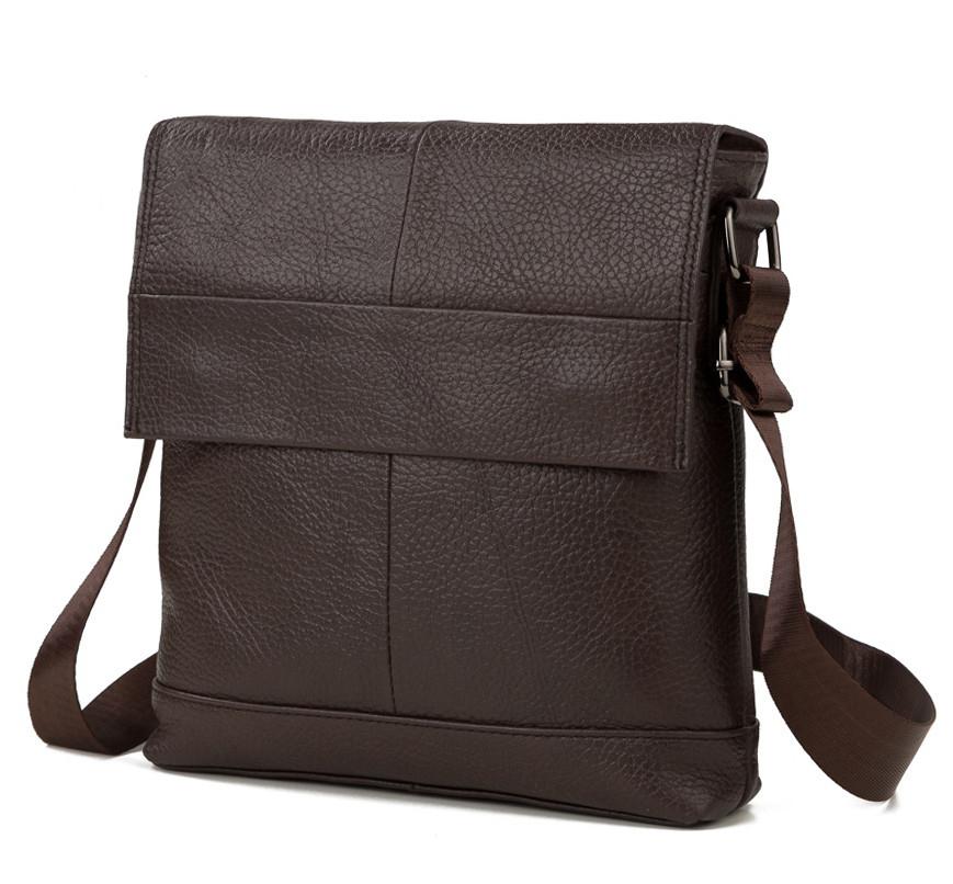 6d0abc4afd94 Мужская сумка через плечо TIDING BAG M38-8136C коричневая – купить в ...