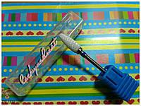 Фреза керамическая кукуруза для ногтей геля гель лака синяя средняя