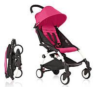 Детская коляска YOYA 175 Рink, легкая, складная, компактная коляска baby yoya (Йойа) малиновая