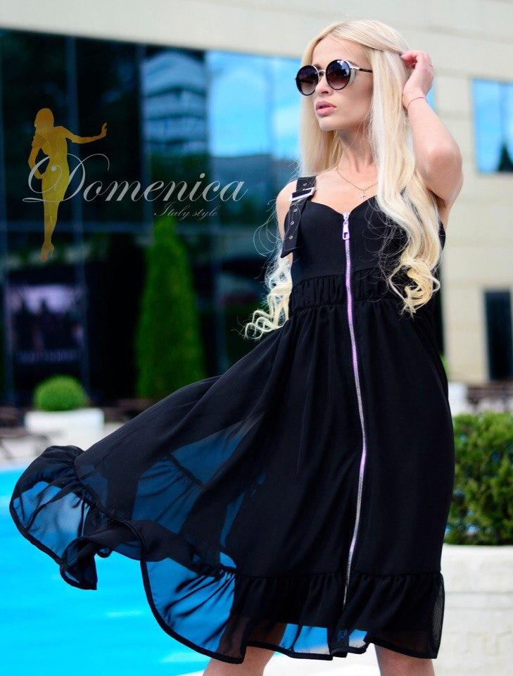 Шикарное платье шифон