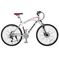 """Велосипед Profi Expert 26.4M 26"""" Бело-красный, Shimano 21SP"""