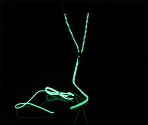 Наушники светящиеся фосфорные вакуумные, фото 2