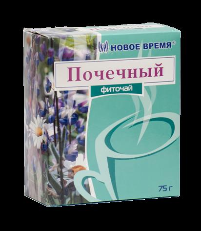 """Травяной чай для здоровья почек """"Почечный"""" Новое время, сбор 75 г"""