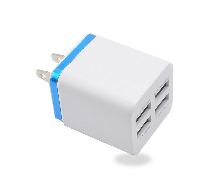 USB зарядное устройство на 4 порта 1A 2A