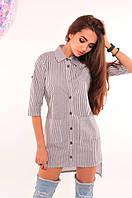 Женская летняя рубашка №078-107