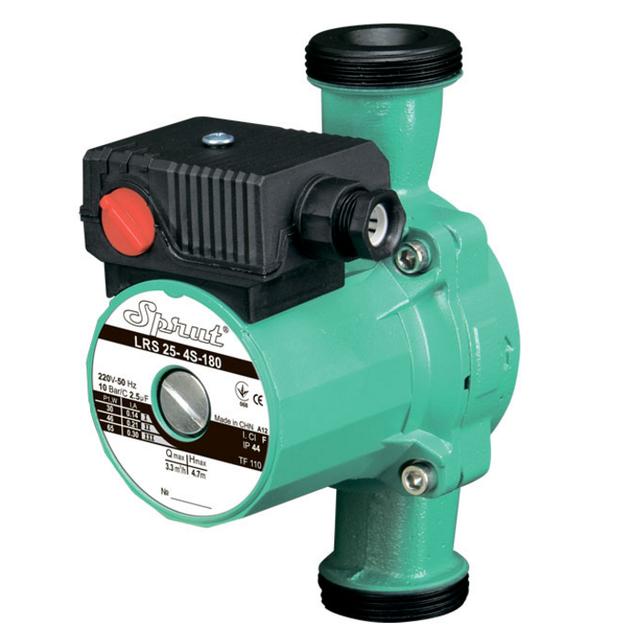 Циркуляционный насос для систем отопления Sprut LRS 25–4S–180