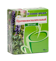 """Травяной чай при простатите и аденоме """"Противовоспалительный"""" Новое время, сбор 75 г"""