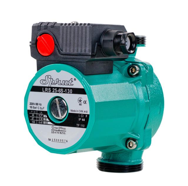 Циркуляционный насос для систем отопления Sprut LRS 25–6S–130