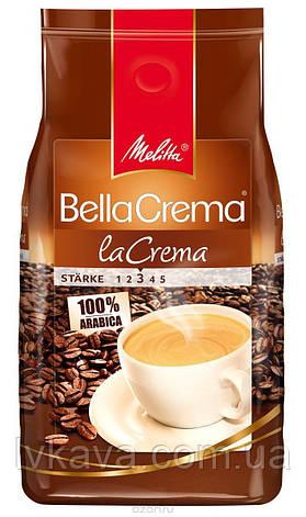 Кофе в зернах  Melitta BellaCrema laCrema,  1 кг, фото 2