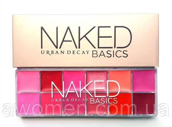 Блекс для губ Naked Urban Basics (палетка)