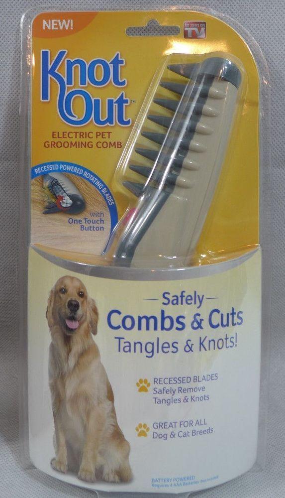Расческа для собак и кошек Knot Out