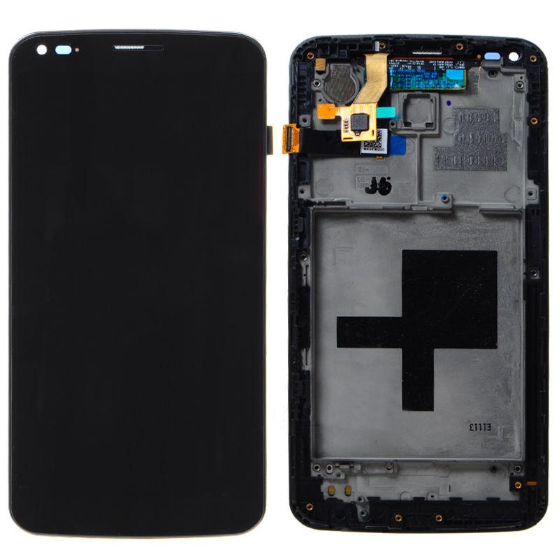 Дисплейный модуль для мобильных телефонов  LG G Flex D9558 черный