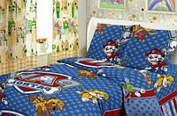 Детское постельное белье ТМ Тиротекс бязь Собачий патруль