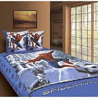 Детское постельное белье ТМ Тиротекс бязь Человек паук 1