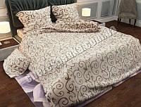 """Ткань для постельного белья Бязь """"Gold"""" GL15375biege (50м)"""