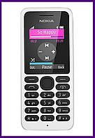 Телефон Nokia 130 Dual Sim (WHITE). Гарантия в Украине 1 год!