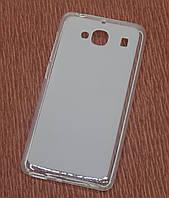 Силиконовый чехол накладка для iPhone 5C White
