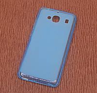 Силиконовый чехол накладка для iPhone 5 Blue