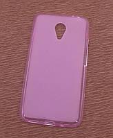Силиконовый чехол накладка для LG L7 II Dual/P715 Pink