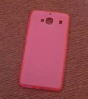 Силиконовый чехол накладка для Nokia X2 New Red