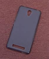 Силиконовый чехол накладка для Sony Xperia M4 Aqua Black