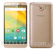 "Смартфон Prestigio 3533 Dual Gold золото (2SIM) 5,3"" 1/8 ГБ 2/8 Мп 3G оригинал Гарантия!"
