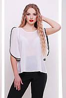 Женская блуза белая, р.S