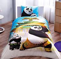 Подростковое постельное белье TAC  DISNEY простынь на резинке KING FU PANDA MOVIE