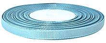 Репсовая лента голубая 0,6 см х 25 ярдов