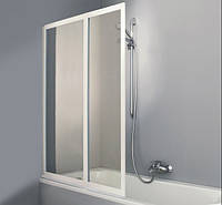 Шторка для ванной COMBINETT 101,5*140см 2-х панельная, Huppe AC0101055264