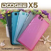 Бампер чехол для Doogee X5 накладка