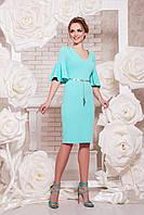 Женское коктейльное платье мятное, р.S,M,L