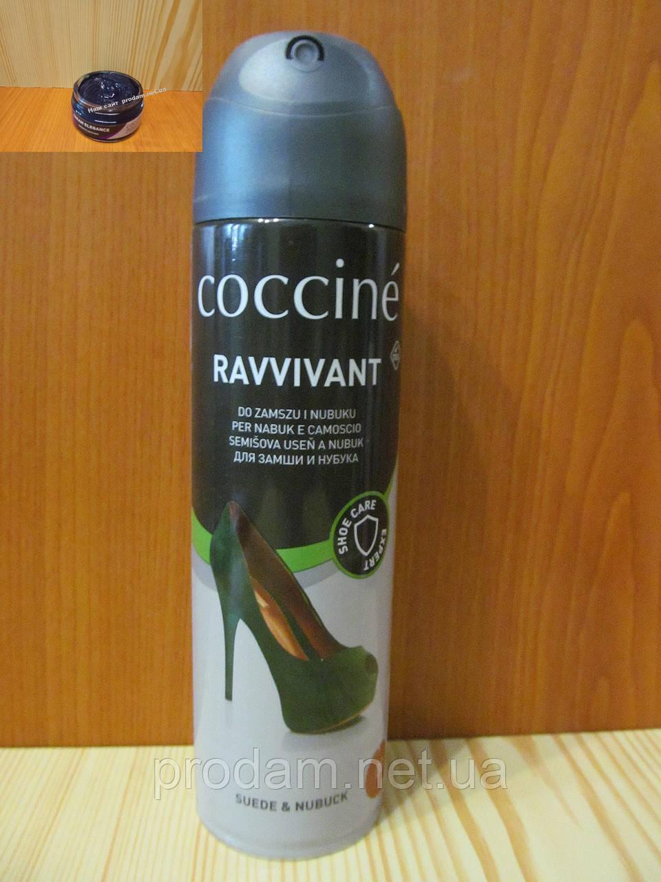 Спрей синий для замши и нубука Coccine