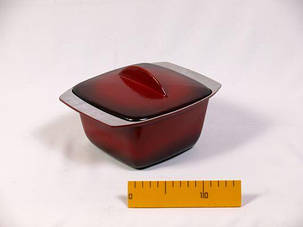 Гуляшница ЭГ1,5 с крышкой, с наружным стеклоэмалевым покрытием, 1,5-л, фото 2