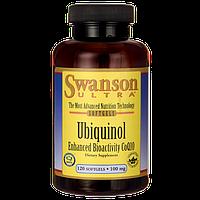 Swanson Ultra Ubiquinol ( KANEKA) CoQ10 самая лучшая форма 100 мг 120 ЖК