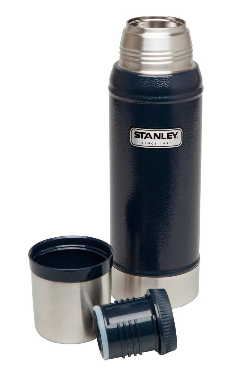 Термос STANLEY Classic Vacuum Bottle 0.75 L темно-синій 10-01612-010