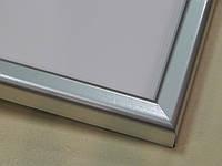 Рамка А4 (297х210).Рамка пластиковая 14 мм.Серебро матовый.