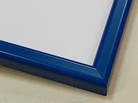 Рамка А4 (297х210).Рамка пластиковая 14 мм.Синий
