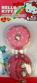 Паперові формочки для кексів Hello Kitty 50 шт.