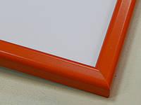 Рамка А4 (297х210).Рамка пластиковая 16 мм.Оранжевый.