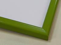 Рамка А4 (297х210).Рамка пластиковая 14 мм.Зеленый.