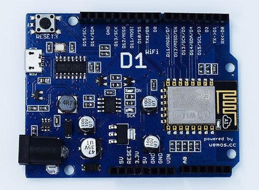 WeMos D1 WiFi плата. ESP-12E ESP8266