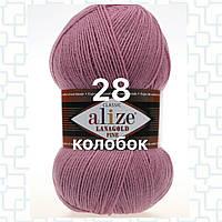Пряжа для ручного вязания Alize LANAGOLD FINE (Ализе ланаголд файн)   28 роза