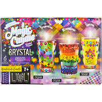 """Набор парафиновые свечи с кристаллами """"MAGIC CANDLE CRYSTAL"""" MgC-02-01"""